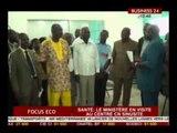 Focus Eco  Le ministère de la santé en visite au Centre CN Sunisite