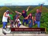 24oras: Mikey Bustos, gumawa ng video sa Bohol