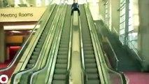 yürüyen merdiven kazaları çok komik