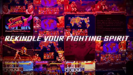 Ultra Street Fighter II: The Final Challengers : Trailer d'annonce