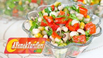 Börülce Salatası Nasıl Yapılır? | Börülce Salatası Tarifi | Kuru Börülce Salatası