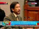 BP: Sen. Tito Sotto, nagbibigay ng privilege speech kaugnay ng kinasangkutang isyu ng plagarism
