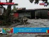 BP: 3 bahay sa Ilocos Sur, tinangay ng tubig na umapaw mula sa ilog