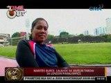24Oras: Marites Burce, lalahok sa Javelin Throw sa London Paralympics