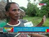 BP: Lupa sa tabing ilog sa Ilocos Sur, gumuguho