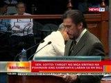 BT: Giit ni Sen. Tito Sotto, walang basehan ang akusasyong plagarism vs sa kanya