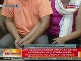 BT: Mag-asawang nanakit umano sa dating kasambahay na si Bonita Baran, inisyuhan ng HDO