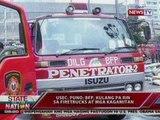SONA: USec. Puno: BFP, kulang pa rin sa firetrucks at mga kagamitan