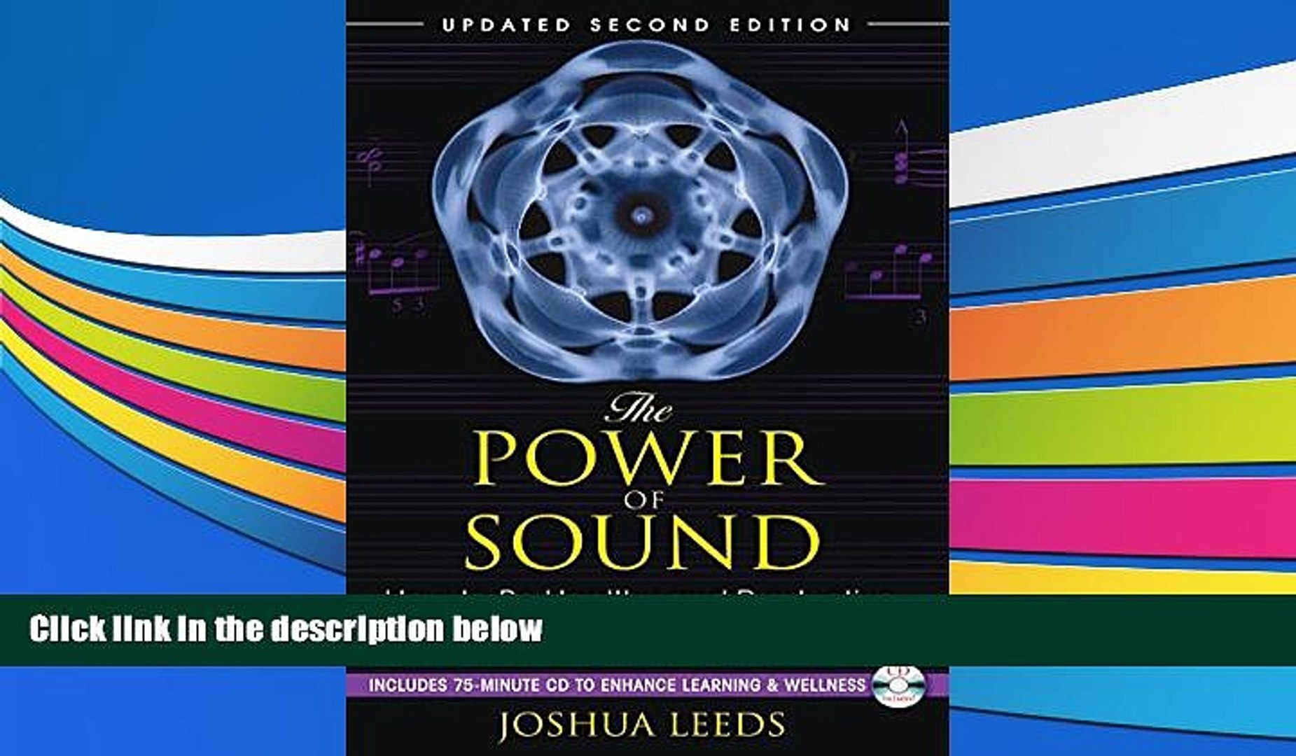 Audiobook  The Power of Sound: How to Be Healthy and Productive Using Music and Sound Joshua