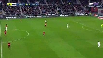 Julian Draxler Goal HD - Stade Rennais 0-1 PSG 14.01.2017 HD