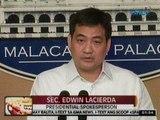 PNoy, kakausapin daw sina DFA Sec. Del Rosario, at Sen. Trillanes kaugnay sa lihim na negosasyon