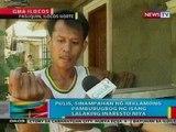 BP: Pulis sa Ilocos Norte, sinampahan ng reklamo ng pambubugbog ng isang lalaking inaresto niya