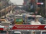 SONA: Mga motorista, naipit sa matinding trapiko sa EDSA ngayong araw