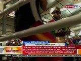 BT: Pacman, muling sasabak sa sparring sessions mamayang hapon bilang paghahanda sa laban vs Marquez
