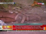 BT: 2 holdaper sa Manila, patay nang makipagbarilan sa mga pulis