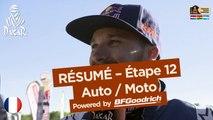 Résumé de l'Étape 12 - Auto/Moto - (Río Cuarto / Buenos Aires) - Dakar 2017