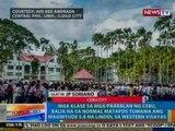 NTG: Mga klase sa mga paaralan ng Cebu, balik normal matapos tumama ang lindol sa Western Visayas