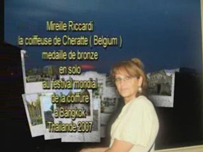 MEDAILLE DE BRONZE A BANGKOK 2007 COIFFURE