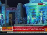 BT_: Futuristic na Christmas display ibinida sa Greenhills Shopping Center