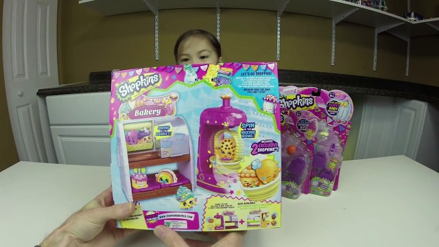 CUTEST SHOPKINS BAKERY SHOP Opening Toys Exclusive Shopkins Baby Special Edition Unboxing Toys