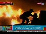 BP: Bodega ng pintura at katabing bodega ng lubricant sa Mandaue City, nasunog