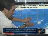 Saksi: Tumpok ng ulap sa Pacific Ocean, binabantayan kung posibleng maging bagyo bago mag-Pasko