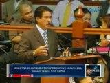 Saksi: Aabot sa 30 amyenda sa RH Bill, inihain ni Sen. Tito Sotto