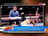 NTG: Nonito Donaire, Jr., itinanghal na fighter of the year ng ESPN