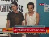 BT: 2 lalaki sa Pasay, arestado dahil sa pagdadala ng mga baril at bala