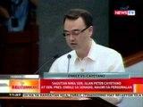 BT: Sagutan nina Sen. Alan Peter Cayetano at Sen. Pres. Enrile sa Senado, nauwi sa personalan