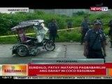 BT: Sundalo, patay matapos pagbabarilin ang bahay ni Coco Rasuman sa Marawi City