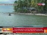 BT: 3 bata, patay matapos maligo sa Malo River sa Negros Oriental; 3 iba pa, naospital