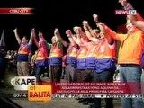 Senatorial candidates ng UNA, pinakilala nina VP Binay, Senate Pres. Enrile, Dating Pres. Estrada