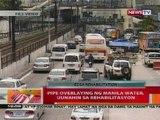 BT: Pipe overlaying ng Manila Water sa EDSA, uunahin sa rehabilitasyon
