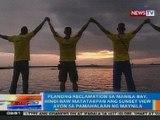 NTG: Planong reclamation sa Manila Bay, hindi daw matatakpan ang sunset view