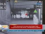 UB: DOH, nakaalerto sa mga paliparan para 'di makapasok ang novel coronavirus sa bansa