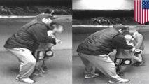 Pria mencoba menculik anak laki-laki tertangkap kamera CCTV - Tomonews