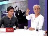 Ang mag-amang Pen at Ping Medina sa 'Tonight with Arnold Clavio'