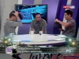 Troy and KC Montero play 'Pinoy Henyo' on Tonight with Arnold Clavio