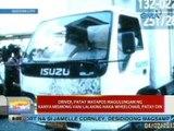 UB: Driver, patay matapos magulungan ng kanya mismong van; lalaking naka-wheelchair, patay din