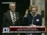 24 Oras: Dating British Prime Minister Margaret Thatcher, pumanaw sa edad na 87