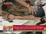 BT: Publiko, pinag-iingat sa hypertension o highblood lalo na ngayong tag-init
