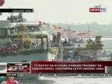 QRT: 17 patay sa fluvial parade tragedy sa San Ricardo, Southern Leyte noong 2006