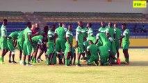 Dernière séance d'entraînement avant la Tunisie, CAN 2017 match Tunisie Sénégal