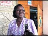 Jacqueline Oble au terme de la rencontre d'information avec le ministre Hamed Bakayoko