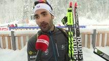 Biathlon - CM - Ruhpolding : M. Fourcade «Je ne me suis pas fait peur»
