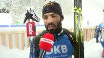 Biathlon - CM - Ruhpolding : S. Fourcade «Je n'ai pas cherché à faire l'effort de trop»