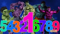 123 Song For Children By Hulk Cartoon | 123 Number Songs | 123 Songs Nursery Rhymes For Kids