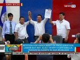 Petition for annulment of proclamation laban kay Rep.-Elect Fuentebella, inihain ng kampo ni Muhlach