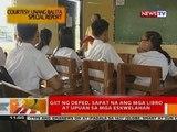 BT: Mga classroom sa public schools, kulang pa rin; mga estudyante, siksikan